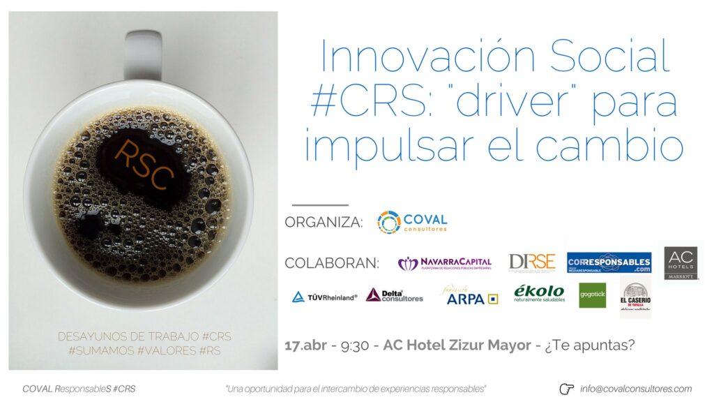 Invitación #CRS #InnovaciónSocial